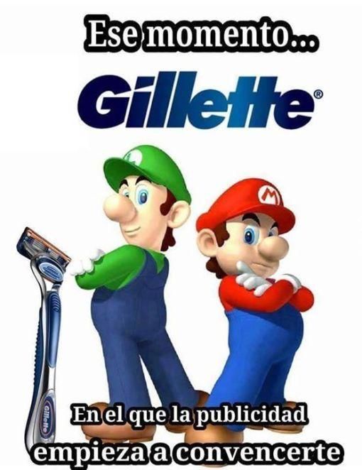 HUmor Gillette