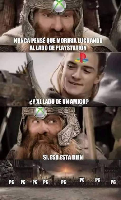 PS4, XBOX contra PC