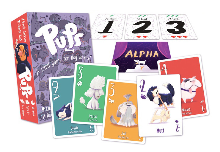 Pups card game