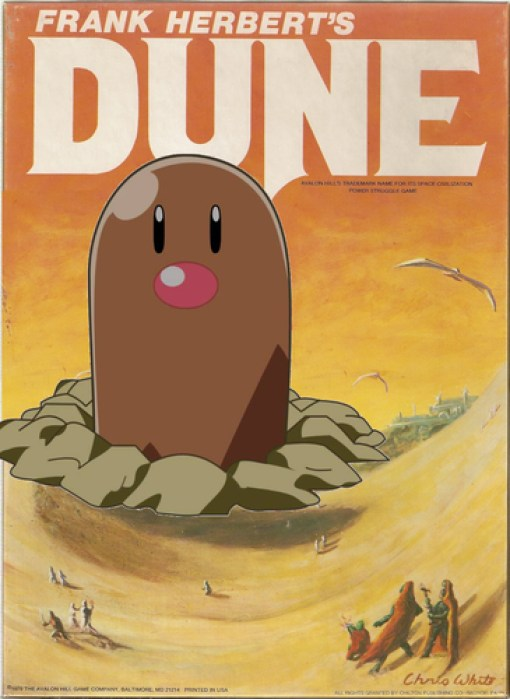 Dune Pokemon