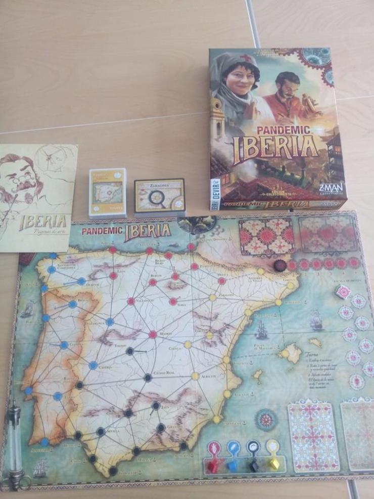 Pandemic Iberia juego