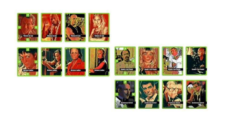 El Robo del Siglo juego de cartas