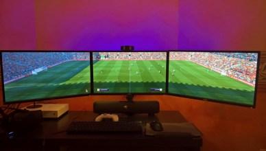 FIFA 17 3 pantallas