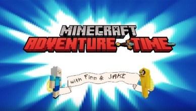 Hora de Aventuras y Minecraft