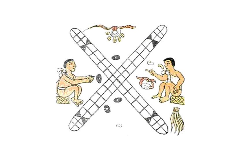 Patolli: cómo jugaban al Parchís en América antes de la llegada de Colón