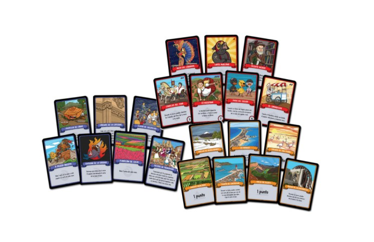 Rey Paparajote juego de cartas