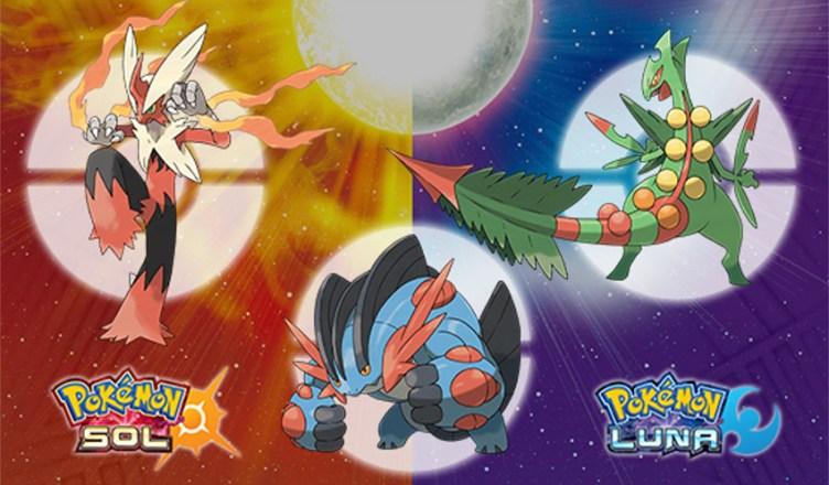 Megapiedras Pokemon Sol y Luna