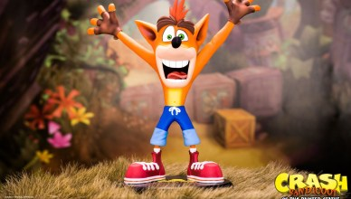 Crash Bandicoot figura