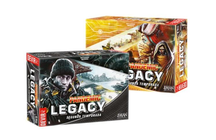 Pandemic Legacy Segunda Temporada