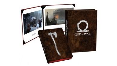 God of War libro de arte