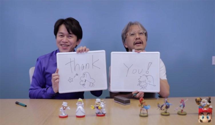 productores Mario y Zelda