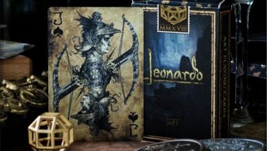 baraja de cartas Leonardo da Vinci