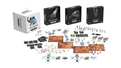 juego de mesa Horizon Zero Dawn