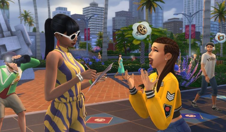 Los Sims 4 ¡Rumbo a la Fama!