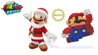 Papá Noel Super Mario Odyssey