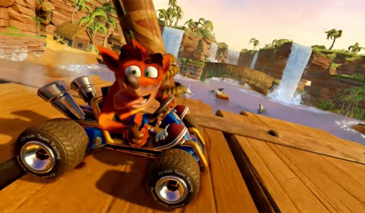 Crash Team Racing remasterización