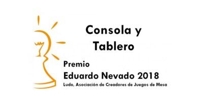Consola y Tablero Premio Eduardo Nevado 2018