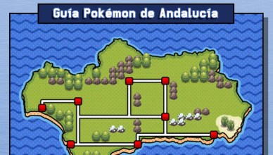 Guía Pokémon de Andalucía