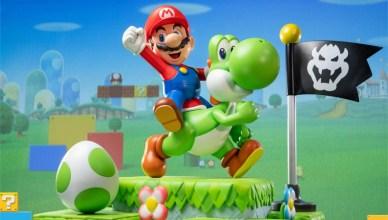 Mario y Yoshi First 4 Figures