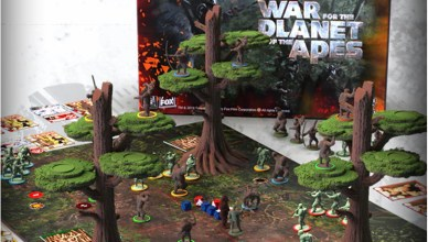 Planet of the Apes The Miniatures BoardGame