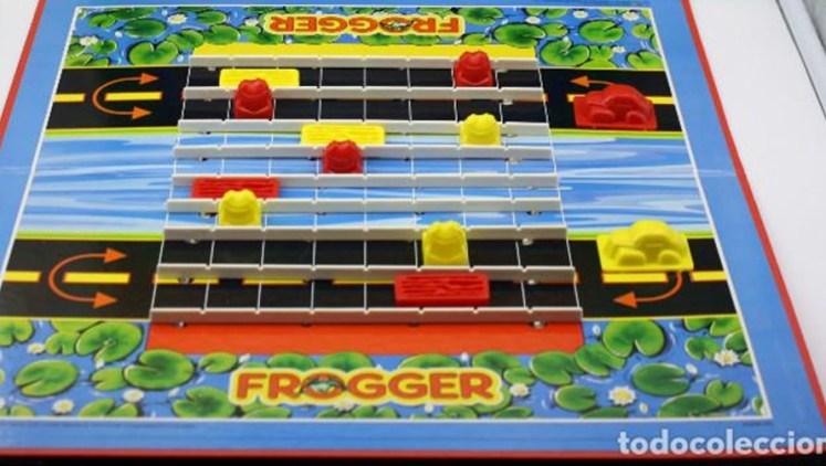 Frogger juego de mesa