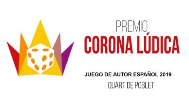 Premio Corona Lúdica 2019