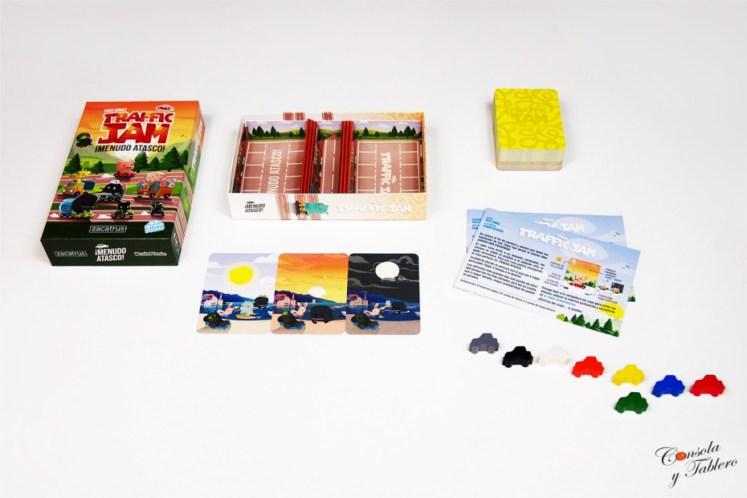 juego de mesa trafico