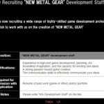 Konami Is Pushing For A New Metal Gear