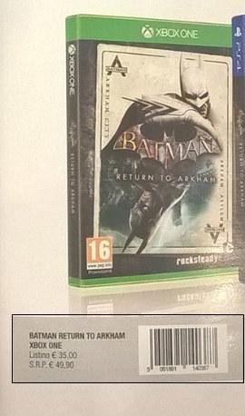 Batman Return to Arkham 3