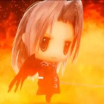 See Sephiroth Summon Meteor In World Of Final Fantasy