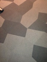 Vorwerk custom carpet - VIP Area
