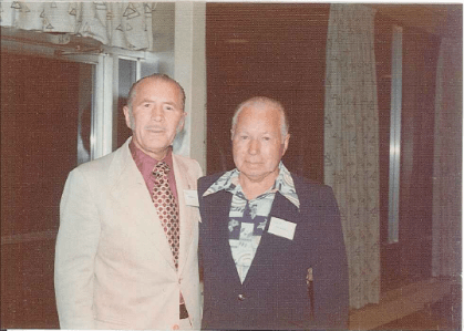 The founders of Consolidated Carpet - Tom & Leif Meberg (l to r)
