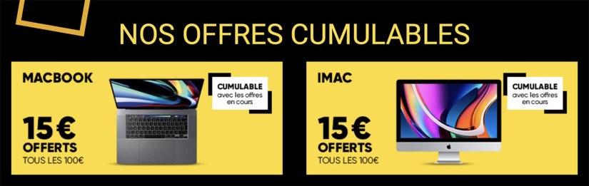 Fnac promo Mac 15