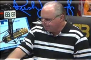 Talk-radio host Rush Limbaugh