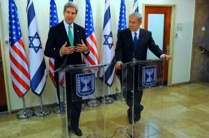 Secretary of State John Kerry and Israeli Prime Minister Benjamin Netanyahu. (State Department photo)