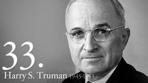President Harry S. Truman.