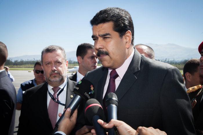 President Nicolás Maduro, 2016. (Cancillería del Ecuador via Flickr)