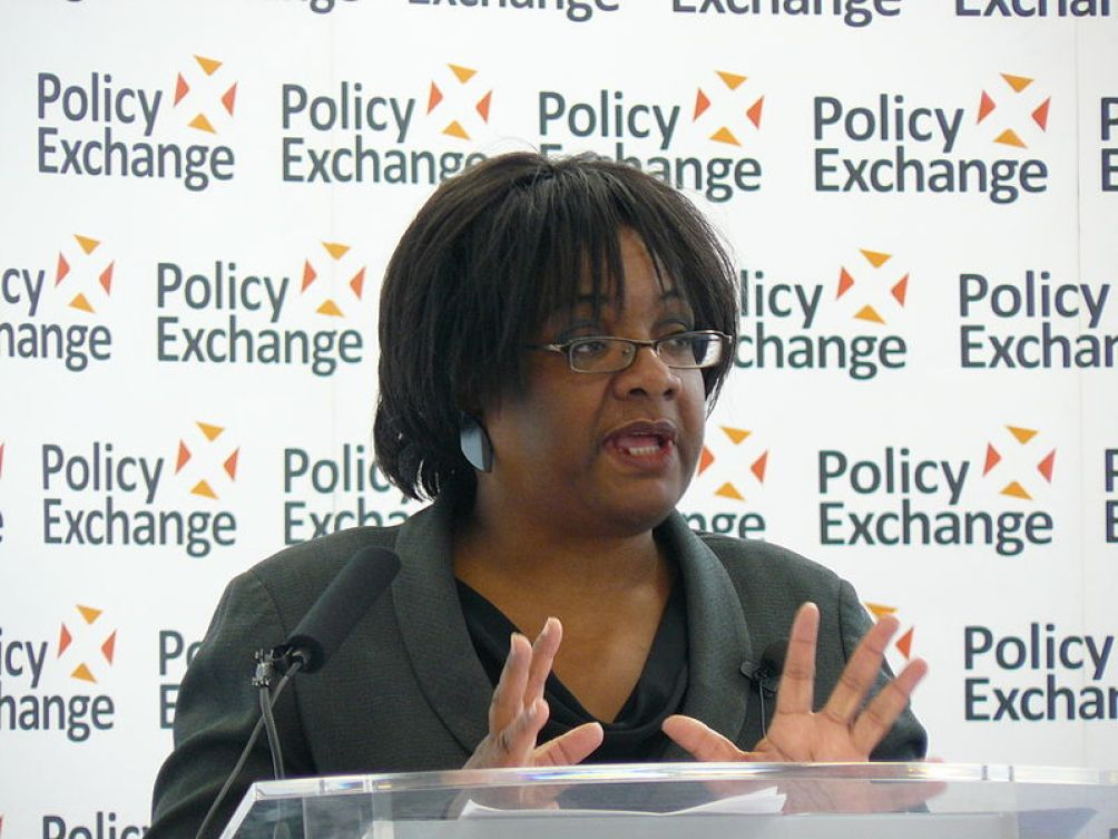 Diane Abbott: It's about Wikileaks. (Policy Exchange via Wikimedia Commons)