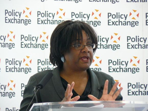 Diane Abbott: It's about Wikileaks. (Policy Exchange via Wikimedia Commons)