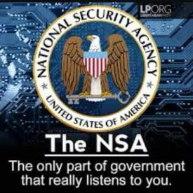 NSA LISTENS TO YOU