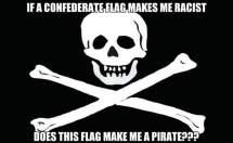 Pirate Flag Racist