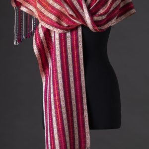 SBS-36 Mardi Gras Luxe silk scarf