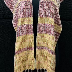 SBS-58 Velvet Opera silk scarf - full