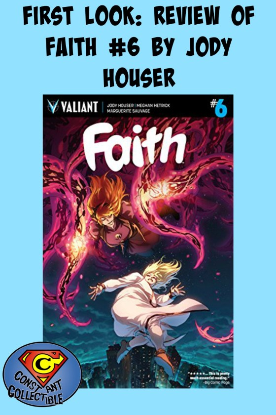 First Look: Review of Faith #6 by Jody Houser