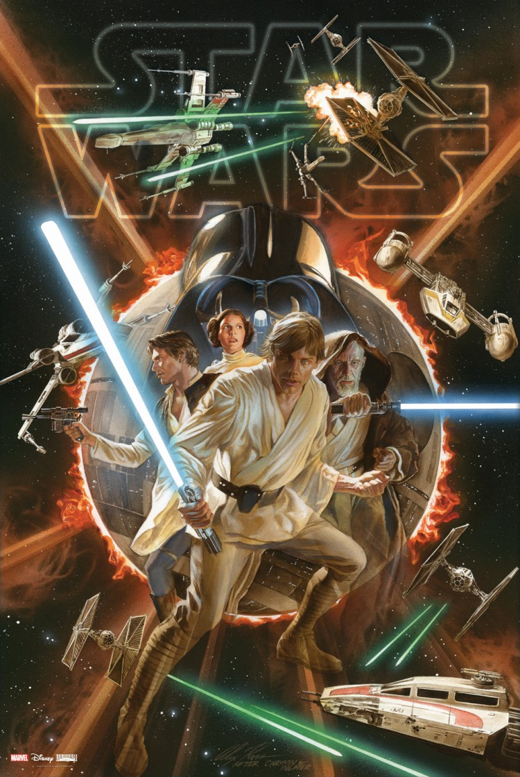 Marvel StarWars SlipcasePoster