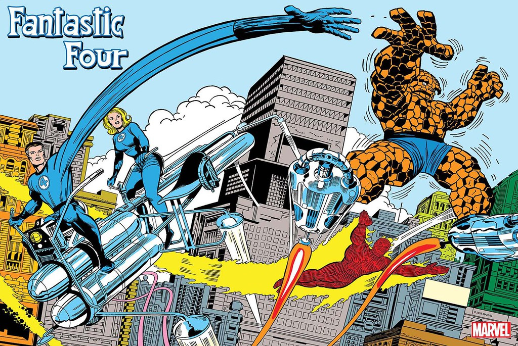 Fantastic Four Jack Kirby Poster