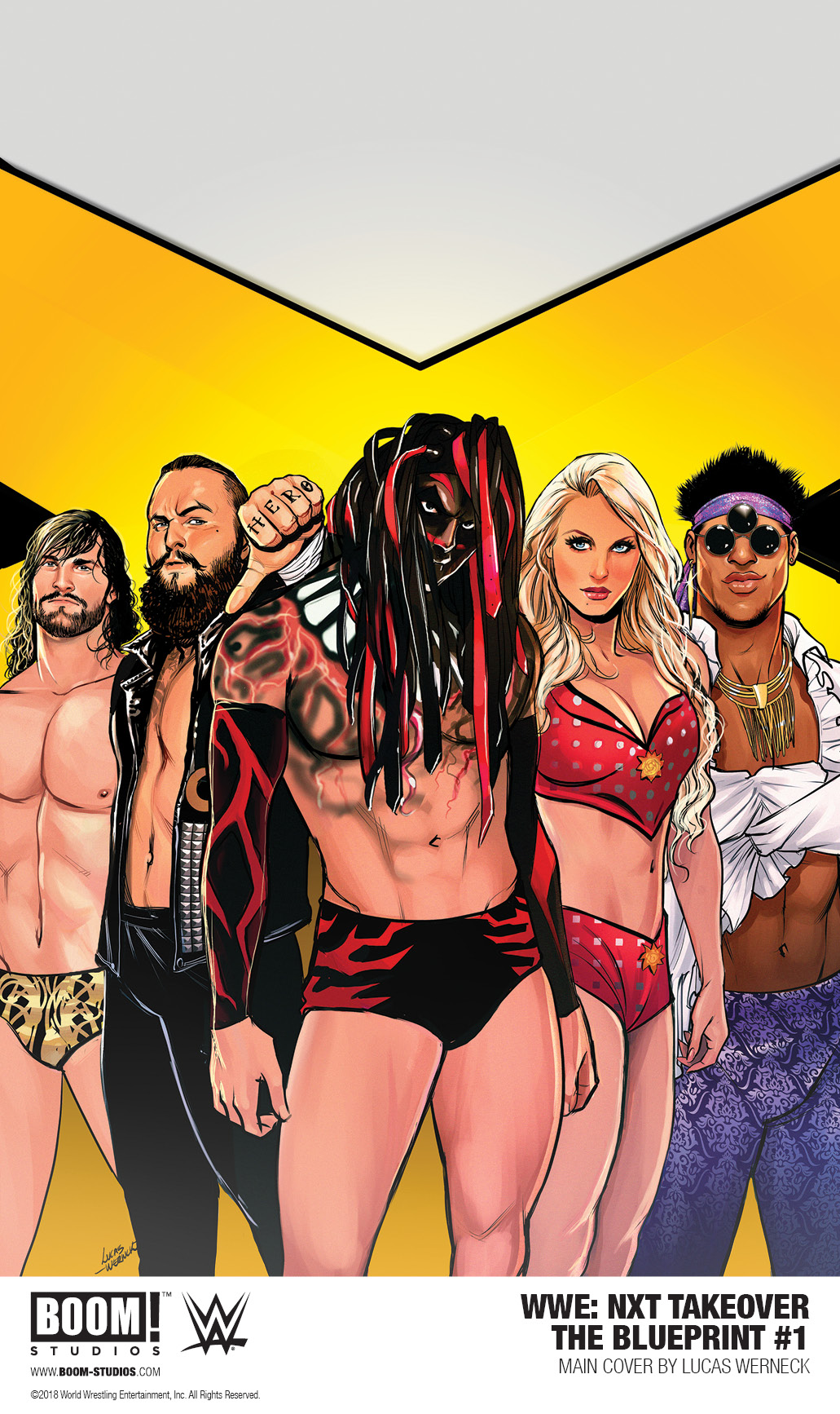 WWE: NXT TAKEOVER - THE BLUEPRINT #1 (2018)