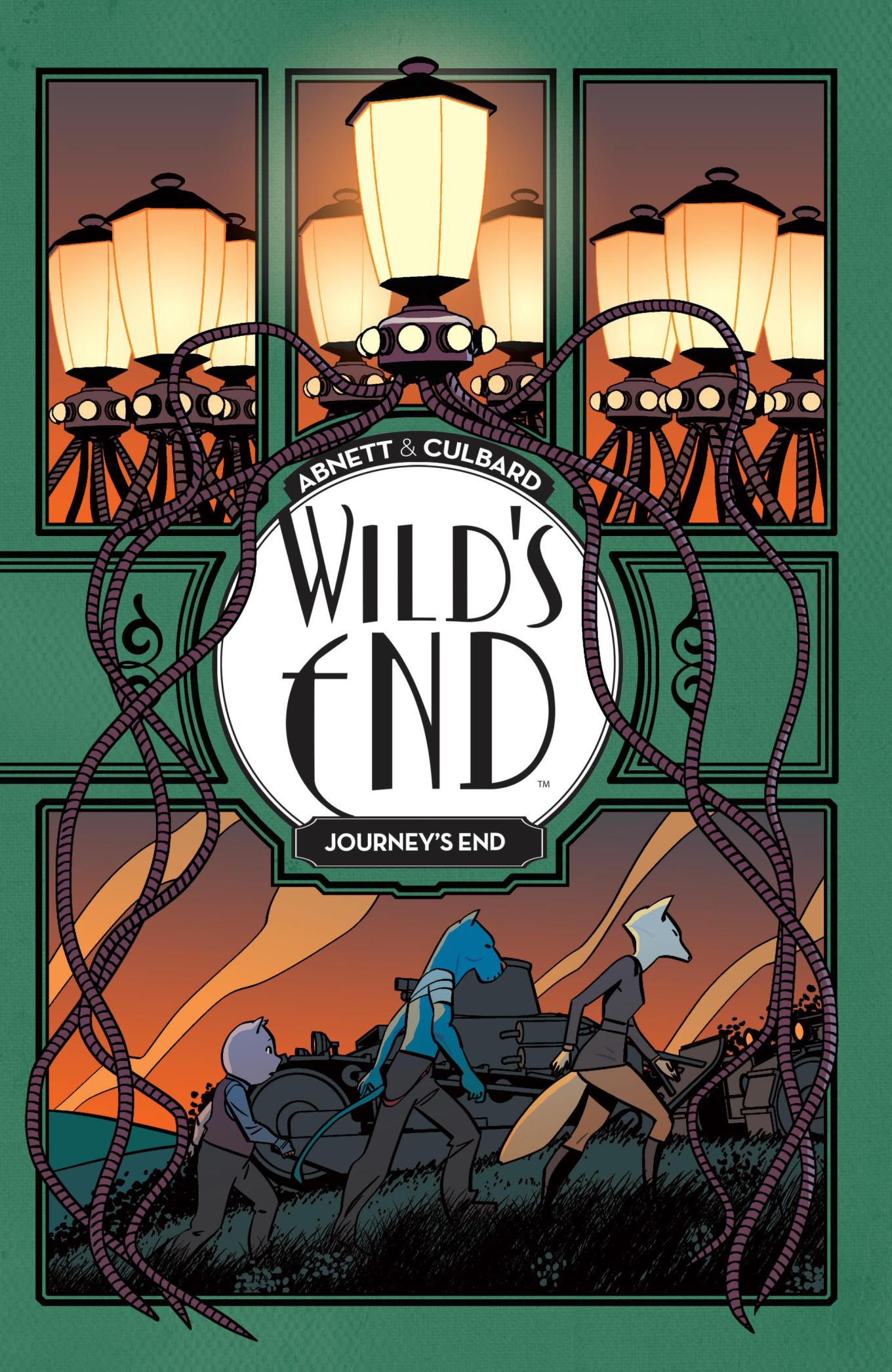 WILD'S END: JOURNEY'S END TPB (2018)