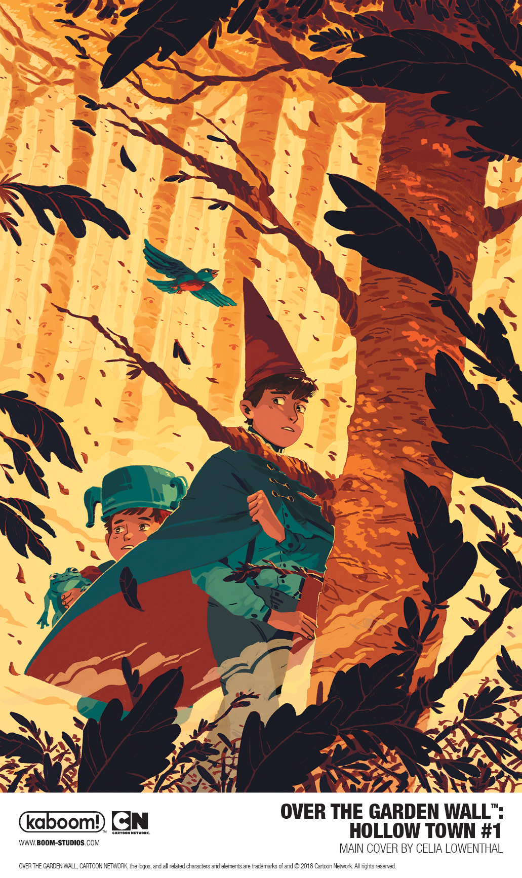Over The Garden Wall: Hollow Town #1 (2018)