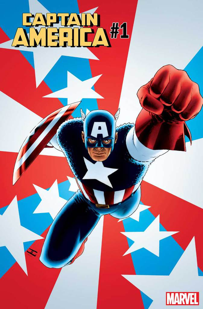 CAPTAIN AMERICA #1 (2018) Variant Art by John Cassaday!